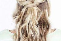 engagement hair