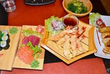 Restaurant Kioku / Oosters - Japans eethuis op de Oude Vaartplaats 47. Heel lekker dim sums, sushi, sashimi's en Thaise curry's