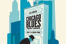 Blues posters