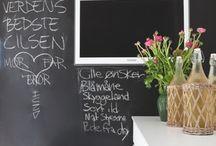 Chalck Board - Schoolbord - Krijtbord / Interieurontwerp | interieuradvies | nieuw interieur | kleurenplan | kleurcombinaties | plattegrond |  3d-visualisaties | interieurontwerper | interieurarchitectuur | interieurarchitect | verhuizing | verhuizen | mooi huis | nieuw huis | droomhuis |  slaapkamer | woonkamer | huiskamer | hal