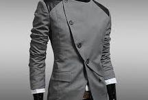 suits with mandarin collars