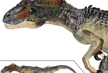 Papo Dinosaurs / The Papo Dinosaurs are so beautifully and intricately detailed they seem like living creatures.