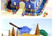 Замок торты