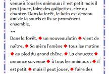 Ecole - Lecture/ fluence