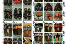 Sandal catifia