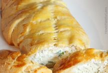 Crab crescent roll