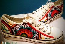 Festett tornacipő