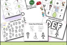 Education  / Teaching my boys colors, letters, numbers and more as they grow / by Renae Reigner