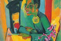 Expressionistische Porträts