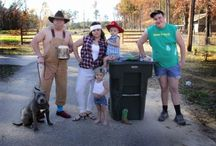 Family Pictures / Our White trash Christmas card picture 2012 / by Summer Crow