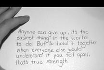 Words & Inspiration