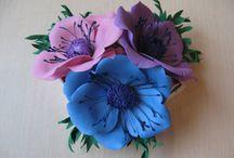 kwiaty z pianki foamirana