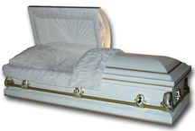 BUDGET Steel Caskets / Discount prices on 20 gauge steel caskets available to the public. http://www.thecasketstore.com
