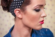 Rockabilly hair and make up