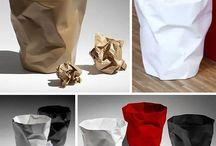 design: trash bins