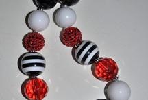Chunky bubblegum necklaces