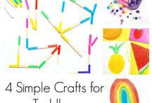 KIDS ART AND CRAFT: Toddlers / Simple Art and Crafts for Toddlers