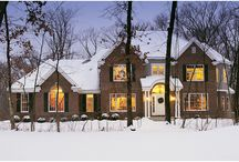 Winter & Holiday Decorating Ideas / Be inspired by the beauty of the holidays and winter with great Christmas decorating ideas, beautiful snow scenes, cozy home interiors, and wonderful recipes that warm us in the coldest months of the year.