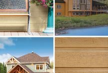 LP CanExel Design Inspiration / Get inspired by beautiful homes featuring various uses of LP CanExel prefinished siding.