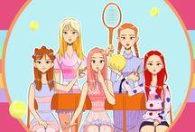 Red Velvet / Red Velvet : le groupe