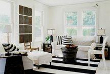 Decoração em preto e branco/  black and white decor