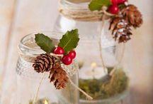 decoração natal copos