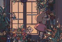 plants & art