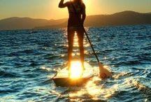 ~~ Paddle boarding ~~