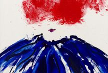 Fun with Fashion: art inspired by my love of couture / Paintings on canvas and paper