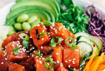 Recipes Poke Bowls