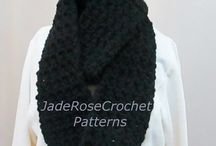 Crochet Scarf Patterns / Keep warm with crochet scarves and cowls. #enjoycrochet