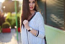 Daniel Wellington Leather Strap Women's Watches