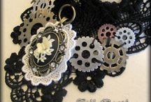 Steampunk accessories / A collection of my steampunk, neovictorian, atompunk, and post apocalyptic accessories found here: http://www.etsy.com/shop/Tilldeathbridal / by Ichigo Chan