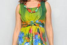 Rochita de vara, multicolora