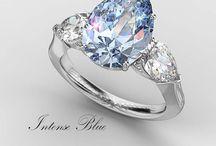 Fancy Intense Blue Diamonds / Fancy Intense Blue Diamonds by Bez Ambar