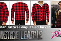 Superman Justice League Red Jacket