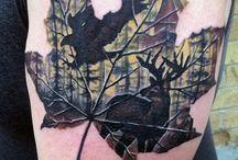 Deer Hunting Tattoos