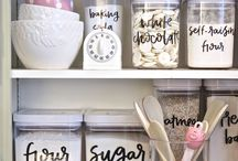 Organizing Hacks / Home Hacks, life hacks, tips and tricks, home living, family.