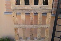 Coat pallet / appendiabiti, pallet, fai-da-te, coat, wood, legno, riciclo, recycled
