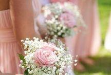 bouquet para as madrinhas