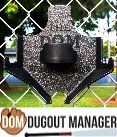 DUGOUT ORGANIZER / The DOM was invented by a father of two softball players with the idea of helping softball and baseball players be more organized in the DugOut. The DOM is a softball baseball equipment organizer. Organize all of the player's equipment the bat, helmet, glove and a bottle of water. www.dugoutmanager.com