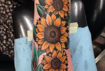 Tattoos- Flowers; Birds; Butterflies and other insects / by Victoria H.