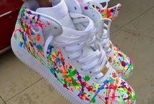 zapatos con estilo arte