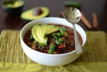 Healthy Soups, Stews & Chilis / Healthy and hearty recipes for soups and chilis that are totally satisfying.