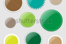 Vector graphics / For the love of colours. Vector graphics available through http://www.shutterstock.com/g/ajinak