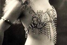 Vintage Dancing Girl