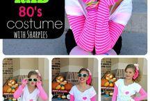 costume ideas 80's style baby!!!