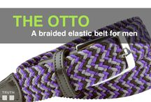 The Otto braided stretch belt / Truth Belts has a new belt that is both stretchy and hole-less. - You can buckle the Otto into any part of the belt you want. (This belt still comes in sizes, sizes 32-40) $75.00 www.truthbelts.com