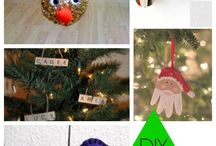 christmas ornaments, crafts & recipes