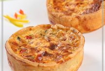 Quiches Pizzas and Tarts